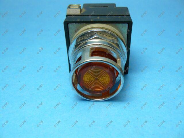 - 104PBL11M3S7 Amber Illum Push Button GE 1NO//1NC General Electric 30mm