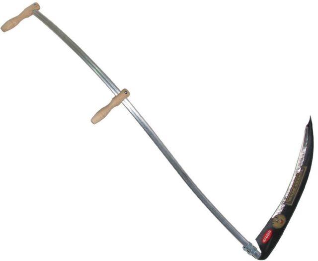 Grass Scythe Kit c/w 45cm bramble blade, 60cm alpine blade and sharpening stone