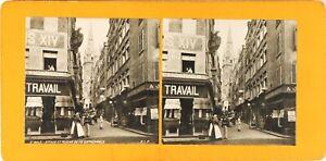 FRANCE-Saint-Malo-La-Cathedrale-Photo-Stereo-Vintage-Argentique-PL60L12