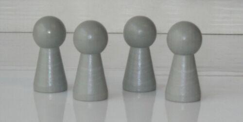 "4 große Halmakegel /""Groß/"" 40 x 19 Pöppel Spielfiguren Farbwahl Senioren Kinder"