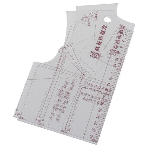 2 teile//satz 1 5 Frauen Kleidung Prototyp Lineal Zeichnungsvorlage Schneider