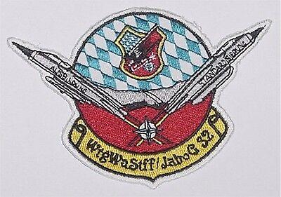 Luftwaffe Aufnäher Patch WtgWaStff JaBoG 32 Jagdbombergeschwader 32 .......A4212