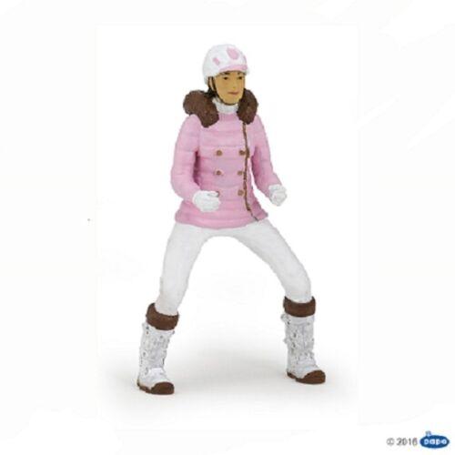 Papo 52011 Rider Fashion Winter 3 1//2in Pferdewelt