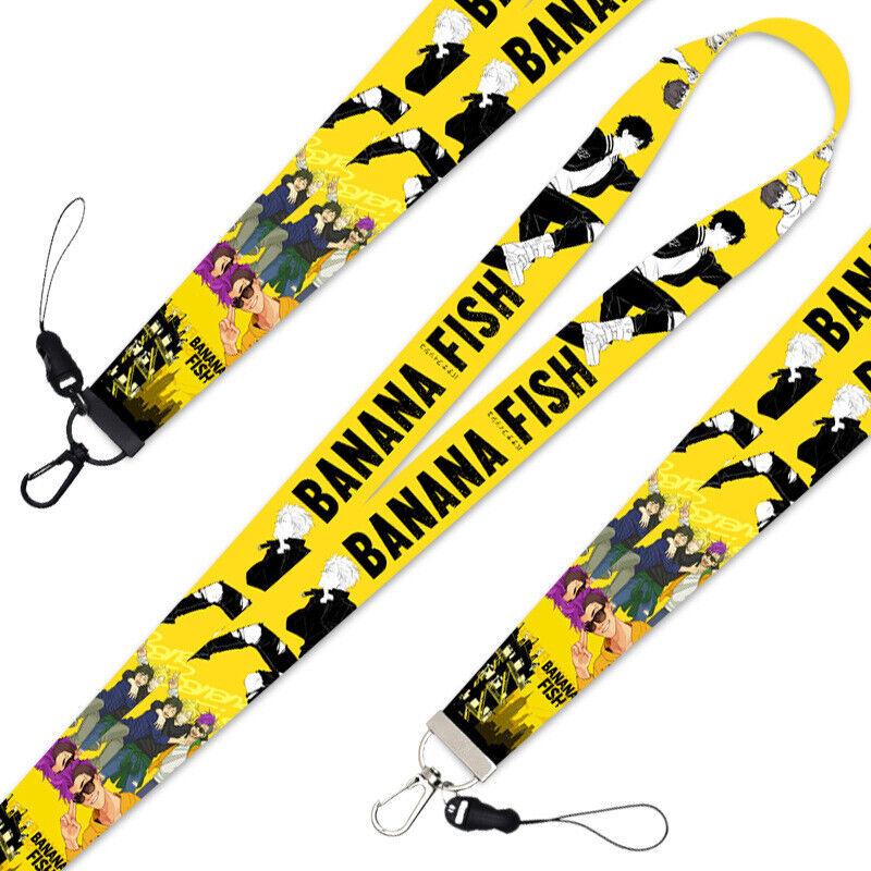 Japanese Anime BANANA FISH Phone Strap Mobile Phone Rope Hanging Wire