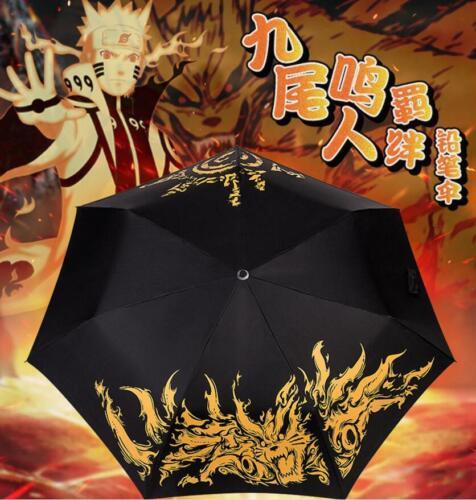Uzumaki Naruto Umbrella Ultraviolet-proof Waterproof Christmas Cos Gift fold