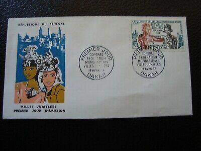 Senegal - Umschlag 1. Tag 18/4/1964 (b20)