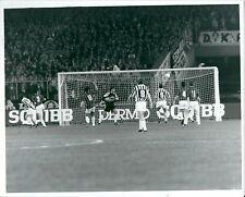 1992 GOL TOTO SCHILLACI foto professionale originale Juventus-Milan 1-0 C Italia