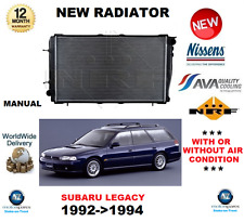 Radiador Para Subaru Legacy 1992 - > 1994 BC Saloon BC UPJ Estate 2000 Turbo Manual