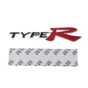 Image Is Loading 3D Emblem Badge Sticker Decal Metal Type R