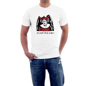 The Blackadder T-shirt Spanish Infanta Again Please Tee by Sillytees