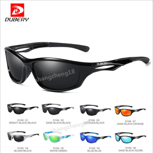 4fcf6bd757 Image is loading DUBERY-Men-Polarized-Sport-Sunglasses-Outdoor-Driving- Fishing-