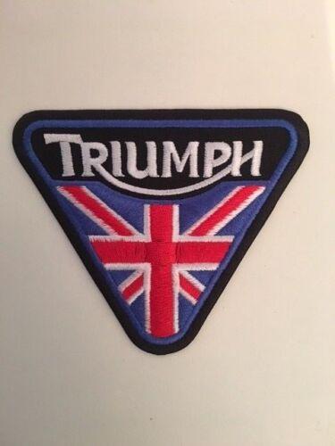 TRIUMPH TRIANGLE A308 //// ECUSSON PATCH AUFNAHER TOPPA 10*10*10 CM NEUF