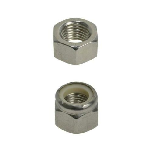 "716"" x 20 TPI UNF NUTS Imperial Fine Stainless A470 G316"