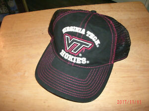hot sale online 2b50b 79597 Image is loading NCAA-Virginia-Tech-Hokies-Hat-Cap-NWT-Free-