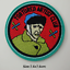 miniature 22 - Sew Iron On Round Patches Popular Badge Transfer Embroidered Funny Biker Slogan