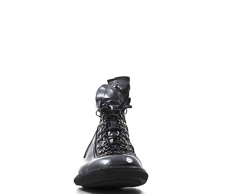 Chaussures Chaussures Chaussures LEMARGO Homme NERO Cuir naturel AE07A-NE 223973