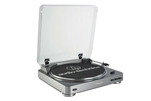 NEW Turntable belt drive w// internal phone preamp and USB record vinyl player