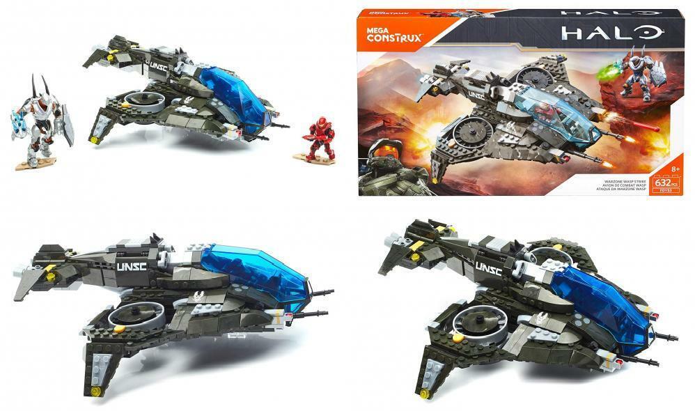 Mega Construx Halo 5 Warzone Wasp Conjunto de Construcción de huelga