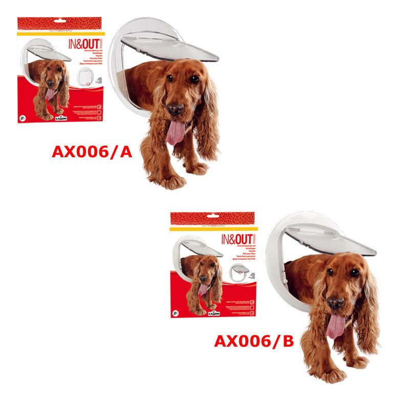 Gattaiola porta basculante per cani di taglia media Camon