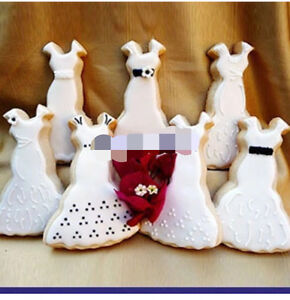 Princess Wedding Dress Cookie Cutter - Stainless Steel | eBay