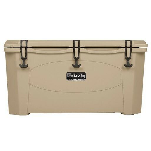 NEW Grizzly G75_T 75QT Cooler with redoTough Molded  Construction - Tan  up to 70% off