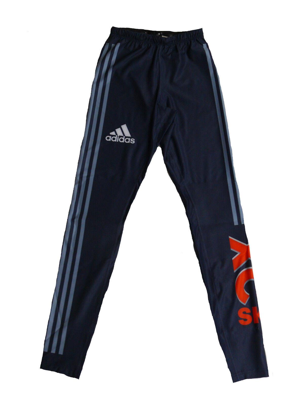 Adidas Herren Race Langlauf Tights Hose Gr.4 (S)
