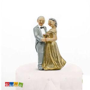 50 Anni Anniversario Matrimonio.Topper Nozze D Oro 50 Anni Matrimonio Anniversario Torta Oro