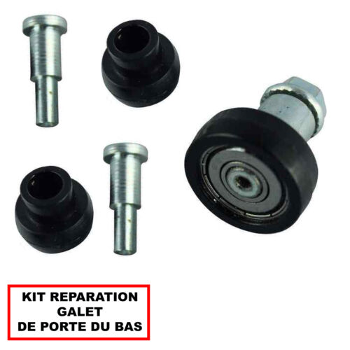 KIT REPARATION ROULEAU PORTE COULISSANTE DROITE BAS MASTER 3 NV400 MOVANO B
