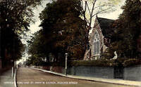 Acocks Green, Birmingham. Warwick Road & St Mary's Church.