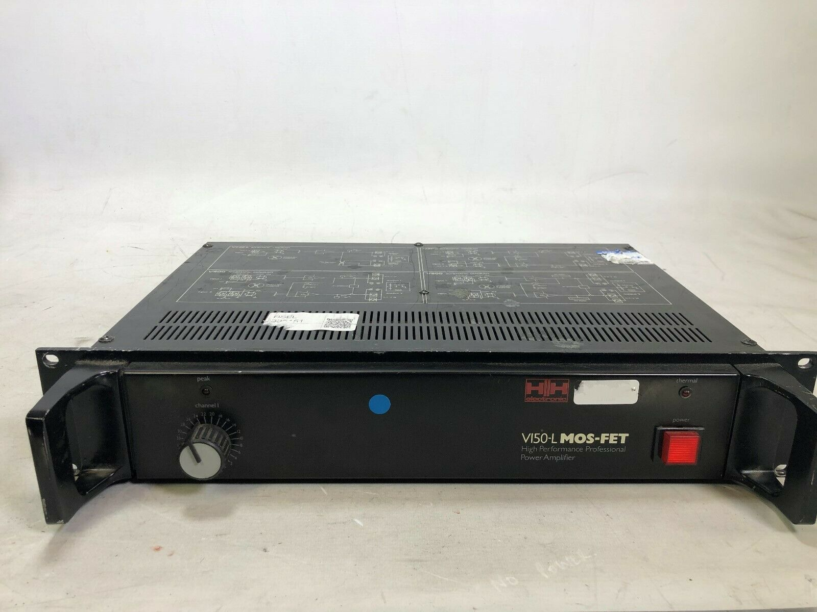 HH Electronic V150-L MOS-FET Professional Power Amplifier, DJ, Sub
