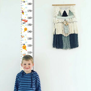 Durable-Children-Height-Ruler-Hanging-Canvas-Growth-Chart-Kids-Room-Wall-Decor