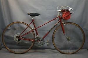 1982 Raleigh Grand Prix Touring Road Bike 50cm Small Mixte Lugged Steel Charity!