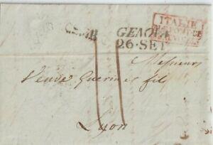 1836-PREFILATELICA-CON-TESTO-DA-GENOVA-X-LYON-FRANCIA