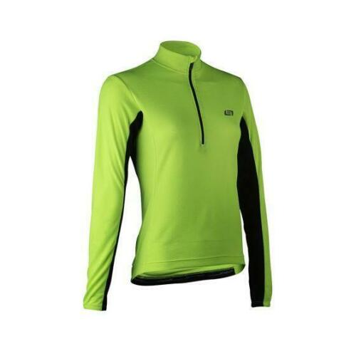 Bellwether TEMPO Womens Long Sleeve Cycling Jersey Hi-Vis Medium /%50 OFF!
