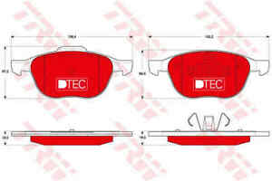 TRW-Front-Brake-Pads-Set-GDB1583DTE-BRAND-NEW-GENUINE-5-YEAR-WARRANTY