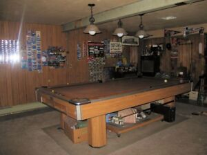 Image Is Loading Brunswick Century Pool Table 9Ft Pickup Ne Ohio