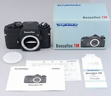 RARE ALMOST UNUSED Voigtlander Bessaflex TM SLR Film Camera BOXED From Japan