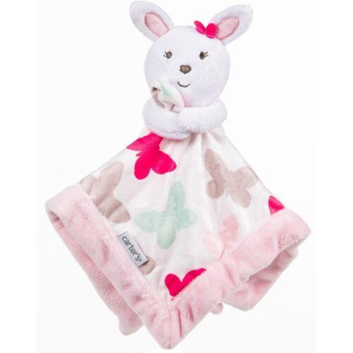Gift Girls Carter/'s Bunny Rabbit Baby Security Blanket M B12 Shower Pink