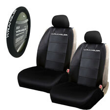 Jeep Wrangler Rugged Neoprene Truck Suv Front Seat Covers Amp Steering Wheel Cover Fits Jeep Cherokee
