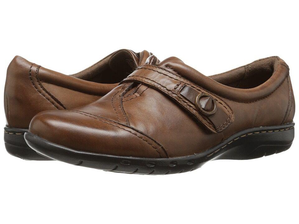 Cobb Hill Women's Pamela US Almond Leather Shoe US Pamela 11 a87576