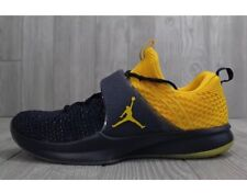 item 3 Sz 9.5 Nike Jordan Trainer 2 Flyknit Michigan Wolverines Navy Yellow  921210 407 -Sz 9.5 Nike Jordan Trainer 2 Flyknit Michigan Wolverines Navy  Yellow ... 772632acc