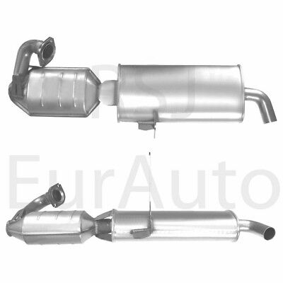Coupe 0,6i 0,7i Catalytic Converter Muffler Smart 450 Fortwo Cabriolet City