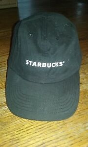 Image is loading Starbucks-Coffee-Embroidered-Barista-Baseball-Cap-Hat -Adjustable- ad22dd5f6a77