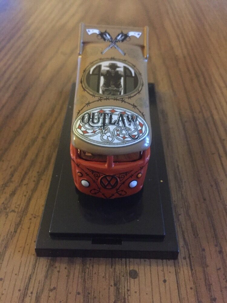 2009 Liberty Promotions Hot Wheels Outlaw Vw Bus 121 300 Rebel Run