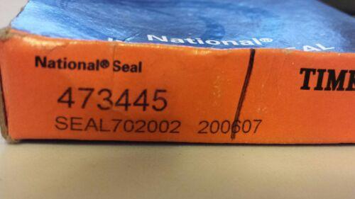 """0.3125/"""" Width Timken 473445 Double Lip w Spring 1.6875/"""" Shaft 2.4410/"""" OD"""