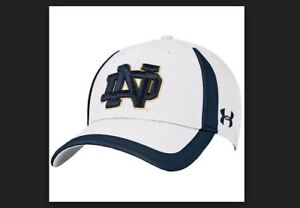 promo code 4af92 77daf Image is loading Notre-Dame-Fighting-Irish-Under-Armour-Sideline-Touchback-