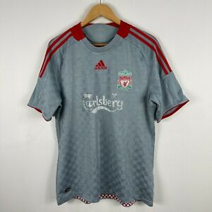 Adidas Liverpool FC Football Jersey Mens Medium 2008 Short Sleeve Shirt