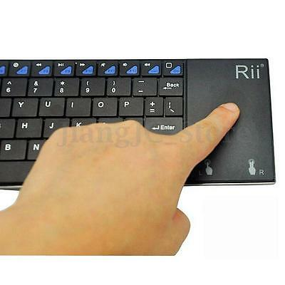 Ri I12 Wireless Mini Keyboard Touchpad Mouse for Laptop IOS Macbook Android TV