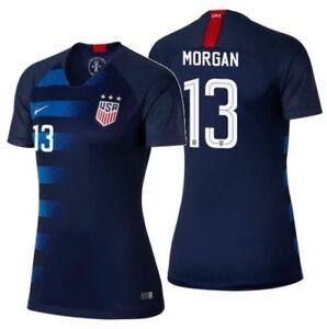 Image is loading NIKE-ALEX-MORGAN-USA-WOMEN-039-S-AWAY- eafad7c18