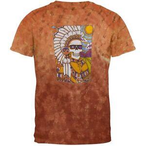 Grateful-Dead-Indian-Chief-Tie-Dye-T-Shirt-Top